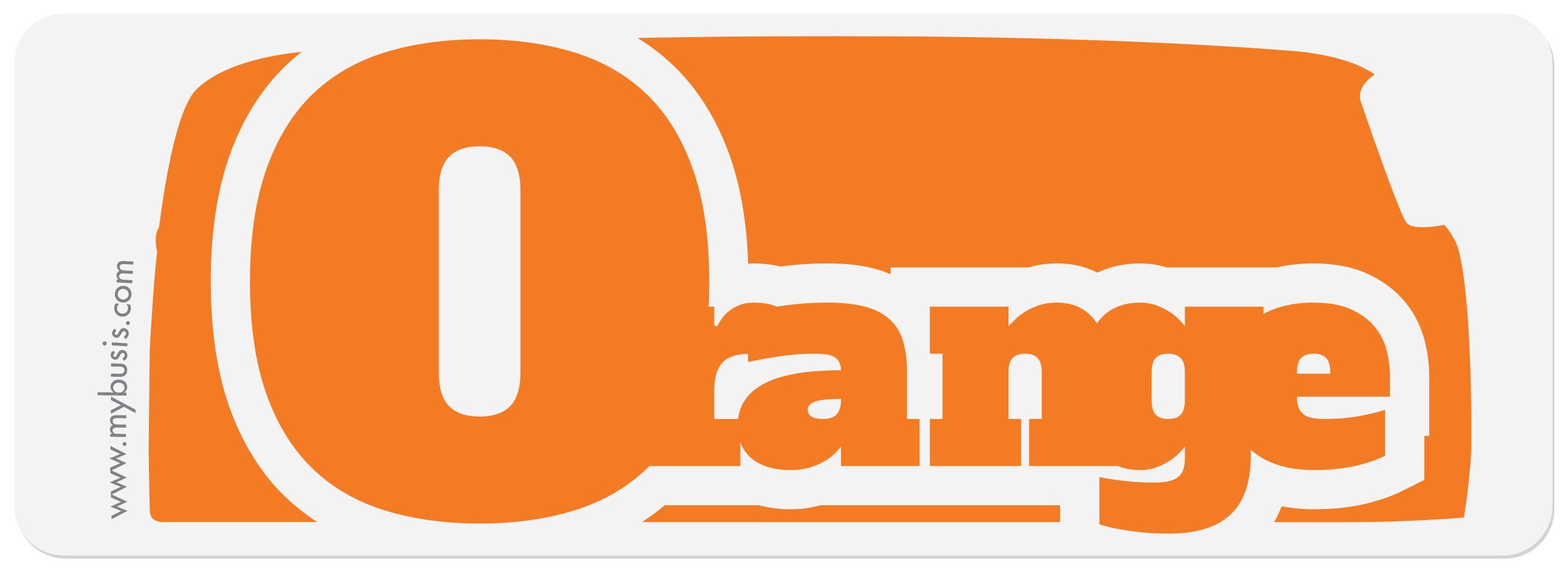 Orange Etre Rappelé : des autocollants color s pour vos bus aircooled ~ Gottalentnigeria.com Avis de Voitures